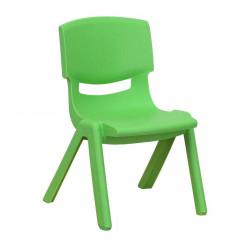 كراسي أطفال بلاستيكية قوية للغاية, أخضر