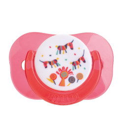 Farlin Tritan Pacifier -g- 0m+, Red