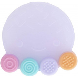 Farlin Silicone Gum Soother, Multi Color