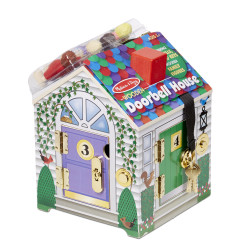 Melissa & Doug Doorbell House Toy