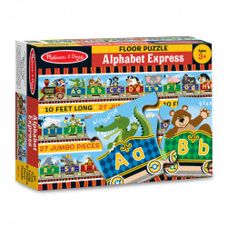 Melissa & Doug Alphabet Express Floor Puzzle (27pc)