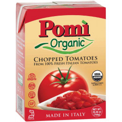 Pomi Org Chopped Tomatoes 750g