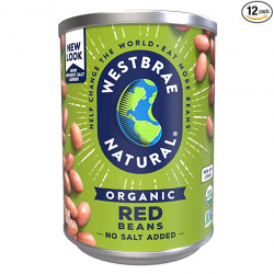Westbrae Natural Organic Red Beans 425g