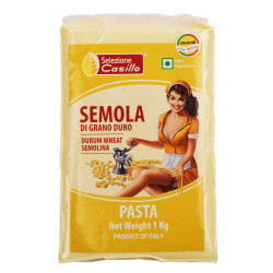 Casillo Durum Wheat Semolina Type Italian Pasta Flour, 1kg