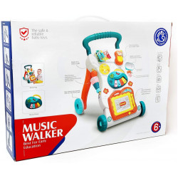 Huanger Baby Activity Sit-To-Stand Learning Walker