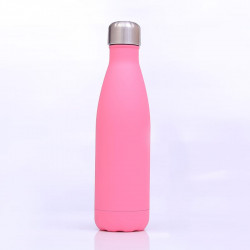 Genioworld Thermos Water Bottle 500ml - Pink