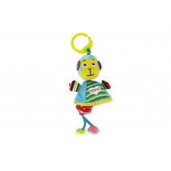 لعبة زينة ذات خشخيشة للعرايات و حصيرات اللعب بتصميم القرد مع تعليقة