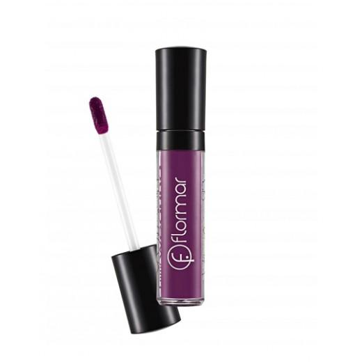 Flormar Long Wearing Raining Purple Lip Gloss