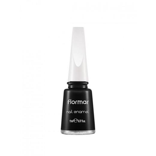 Flormar Nail Enamel 313 Black Minimalism 11ml