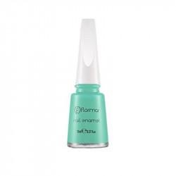 Flormar Nail Enamel 424 Bluish Green11ml