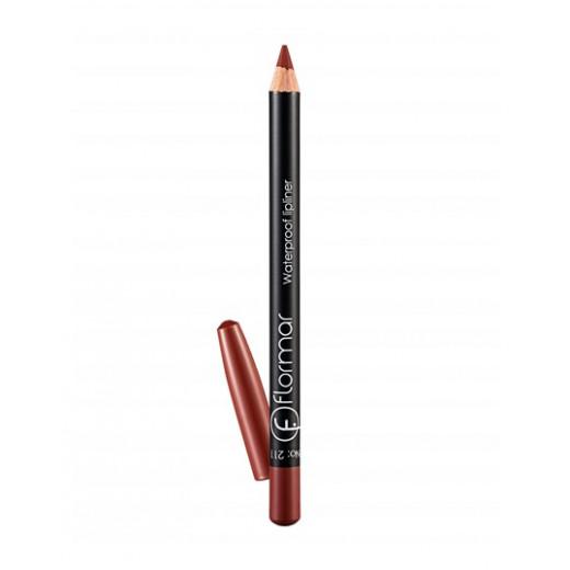 Flormar - Waterproof Lipliner Pencil 211  Classical Brown