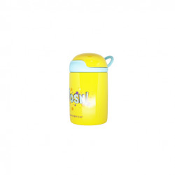 Thermos Steel Water Cup - Yellow 200 ml