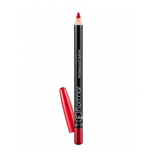 Flormar - Waterproof Lipliner Pencil 233 Dramatteic Red