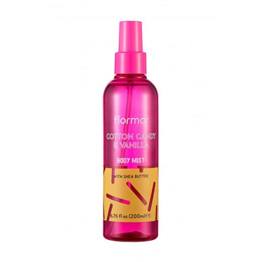 Flormar Body Mist- Cotton Cndy& Vanilla -200ml