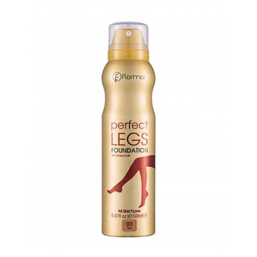 Flormar Perfect Legs Foundation 03 Tan 150ml