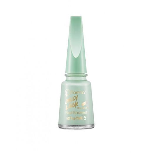 Flormar - Jelly Look Nail Enamel JL16 Pastel Green