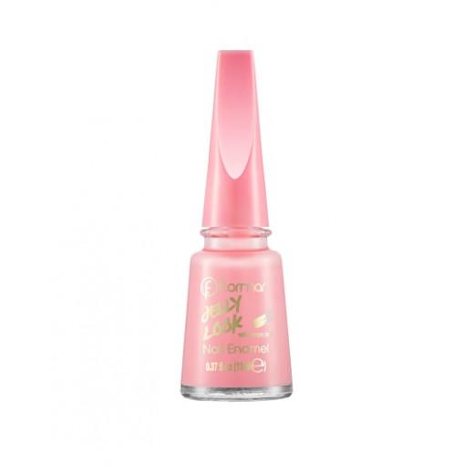 Flormar - Jelly Look Nail Enamel JL27 Milky Pinky