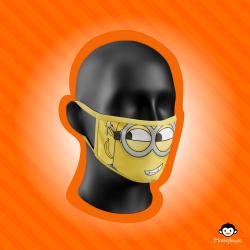 Monkeylicious Children's Face Mask, Boy minion