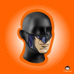 Monkeylicious Children's Face Mask, Batman