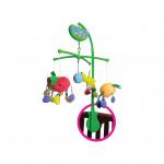 إي بيبي: لعبة موسيقية متحركة لسرير الاطفال بأشكال الفواكه