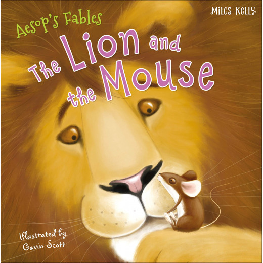 Miles Kelly - Aesop Lion The Mouse