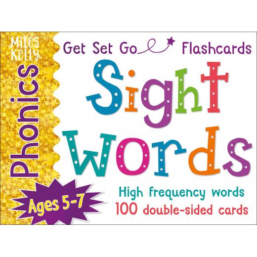 Miles Kelly - Get Set Go Phonics Flashcards: Sight Words