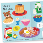 Miles Kelly - Lots to Spot Sticker Book: My Food!