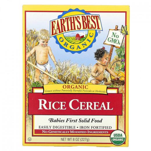 أفضل حبوب الأرز العضوية الكاملة من إيرثس بيست - 227 جم