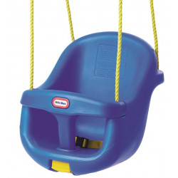 Little Tikes High Backed Toddler Swing, Blue