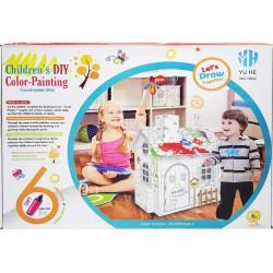 فيلا الريف الملونة للأطفال, اصنعها بنفسك