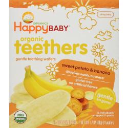 Happy Baby Organic Teethers Sweet Potato Banana