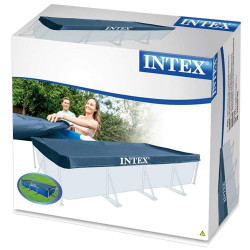 Intex Protective Cover for Rectangular Pool Blue