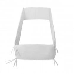 Cambrass - Cot Bumper 360x30x3 cm Liso E White