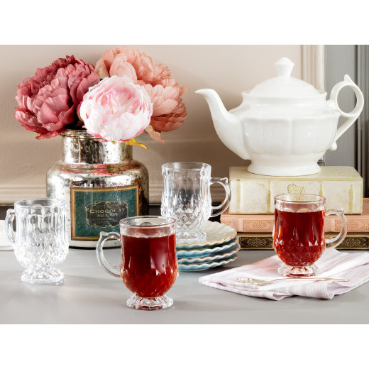 4 أكواب شاي ميكل من مدام كوكو