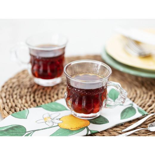 كوب شاي  جينينا 4 قطع من مدام كوكو