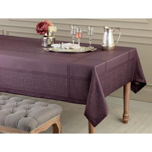 مفرش طاولة مدام كوكو موركون - بنفسجي - 160 × 230 سم