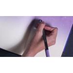 دفتر رسم صغير من مفكرة جالاكسي (بنفسجي) - 16.5 * 11.5 سم