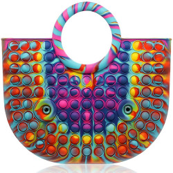 Women's Latest Push Pop Handbag 35×30cm